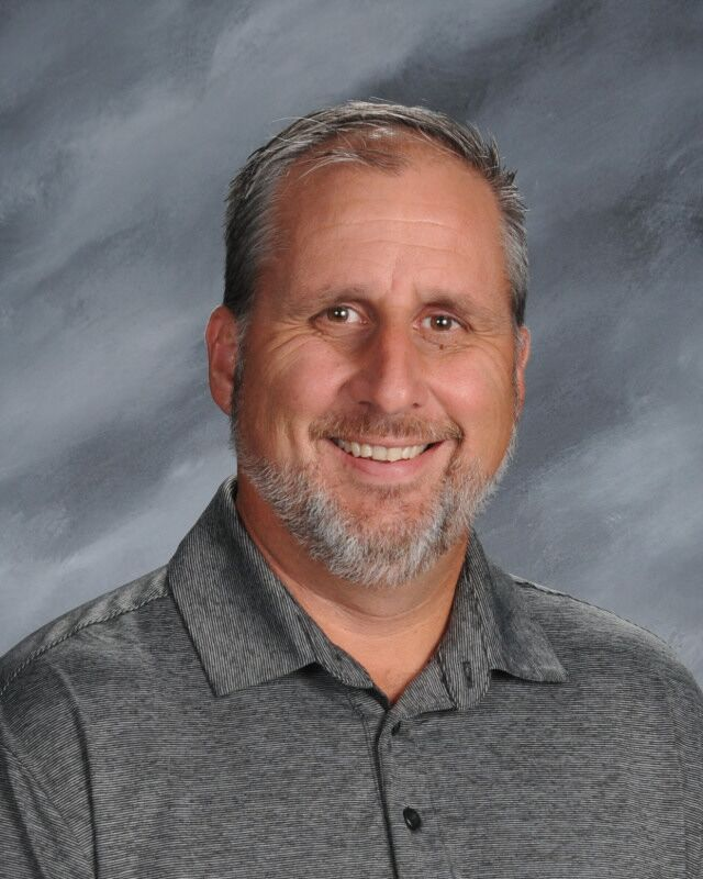 A photo of Brian Akins, Middle School Principal.