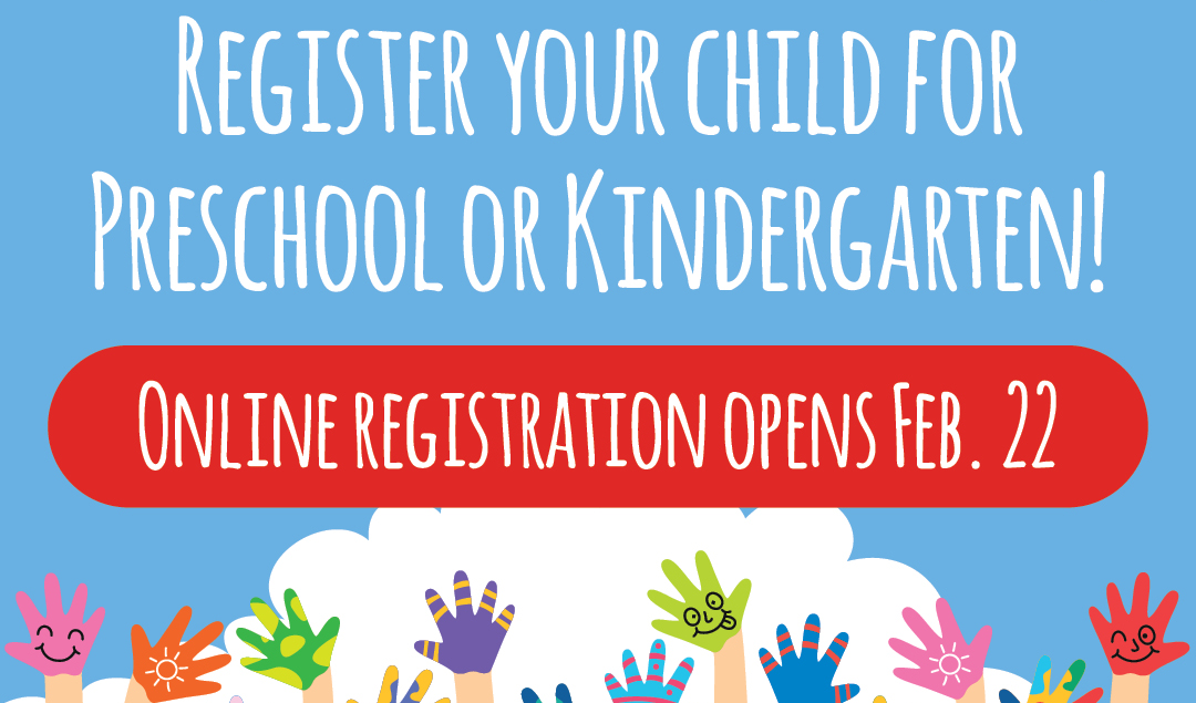PreK K Registration