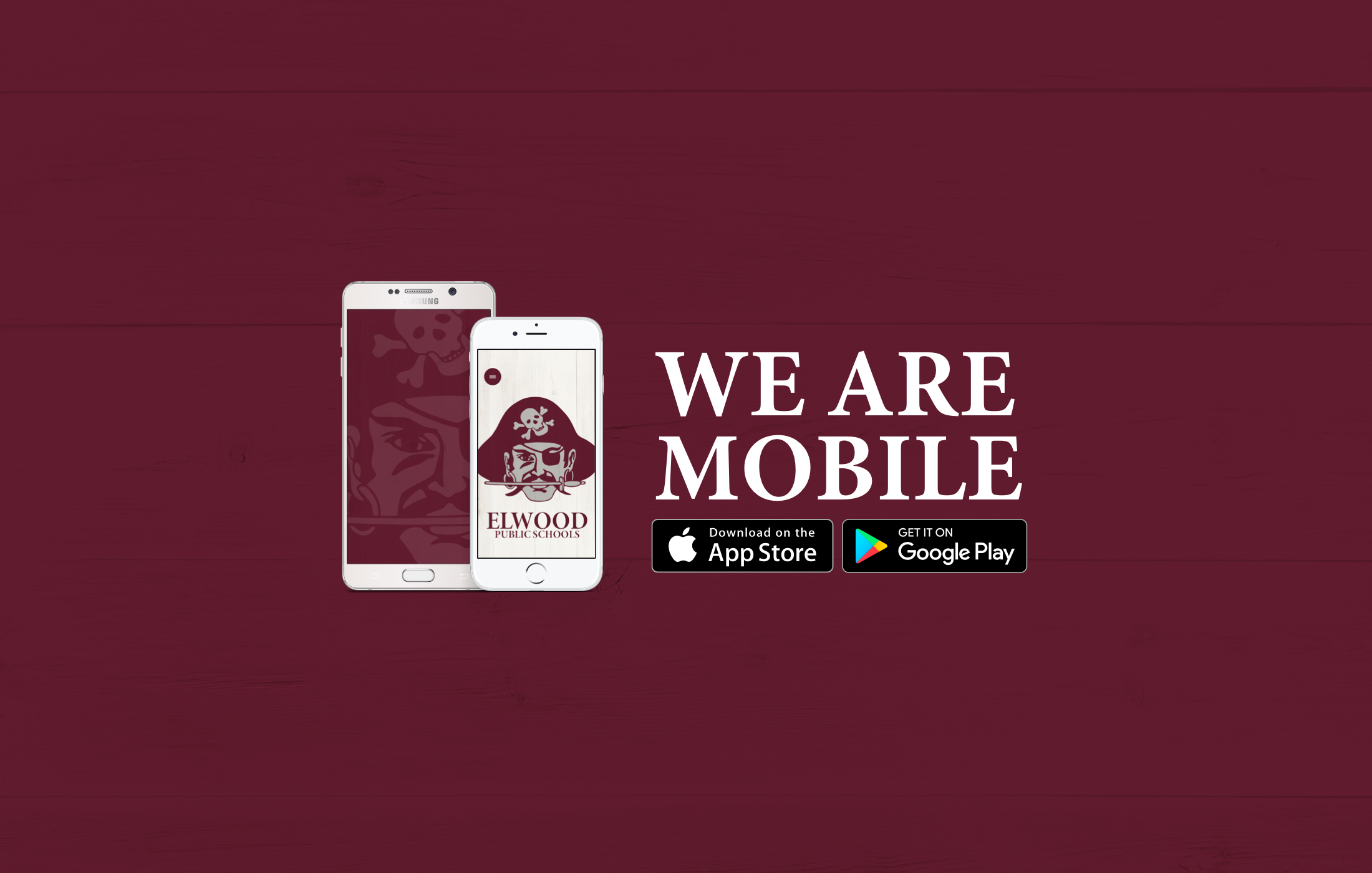 Download our mobile apps for the most recent and up-to-date information!