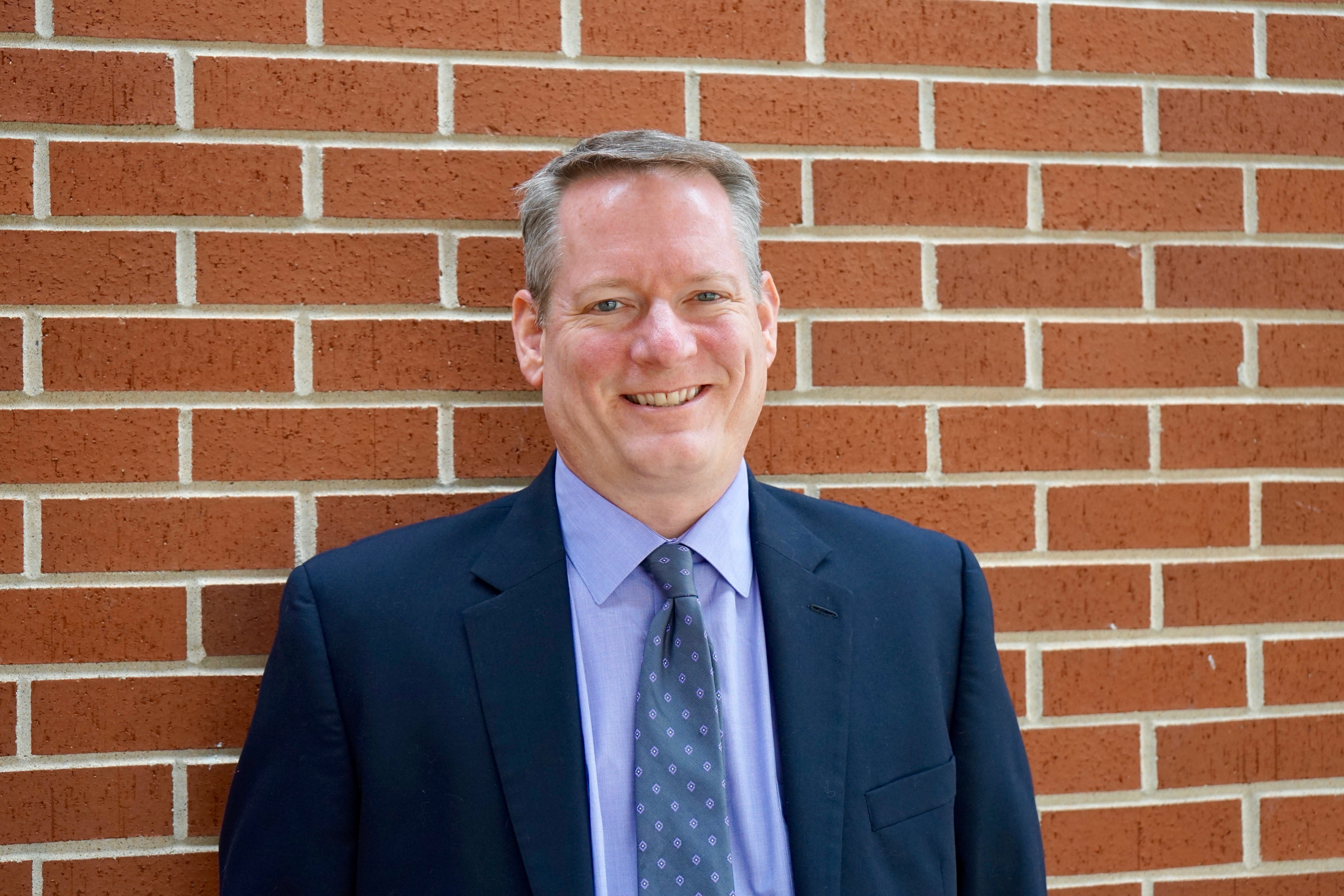 Photo of the Superintendent of Schools, Dr. Rick Cobb