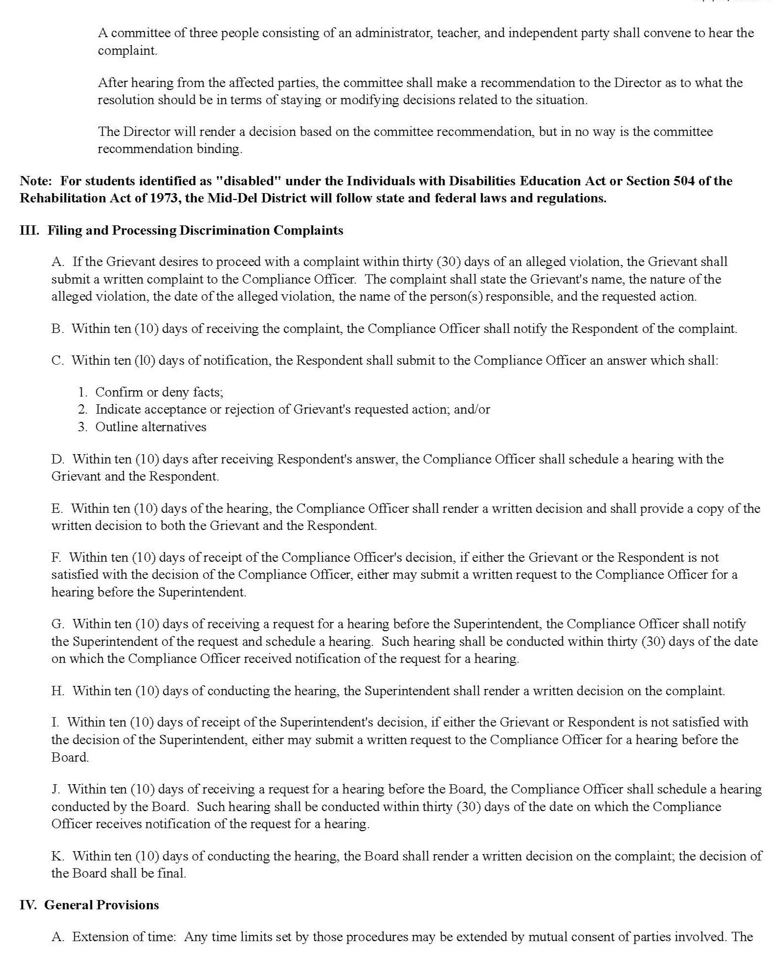 Page 2 of the Title Compliance