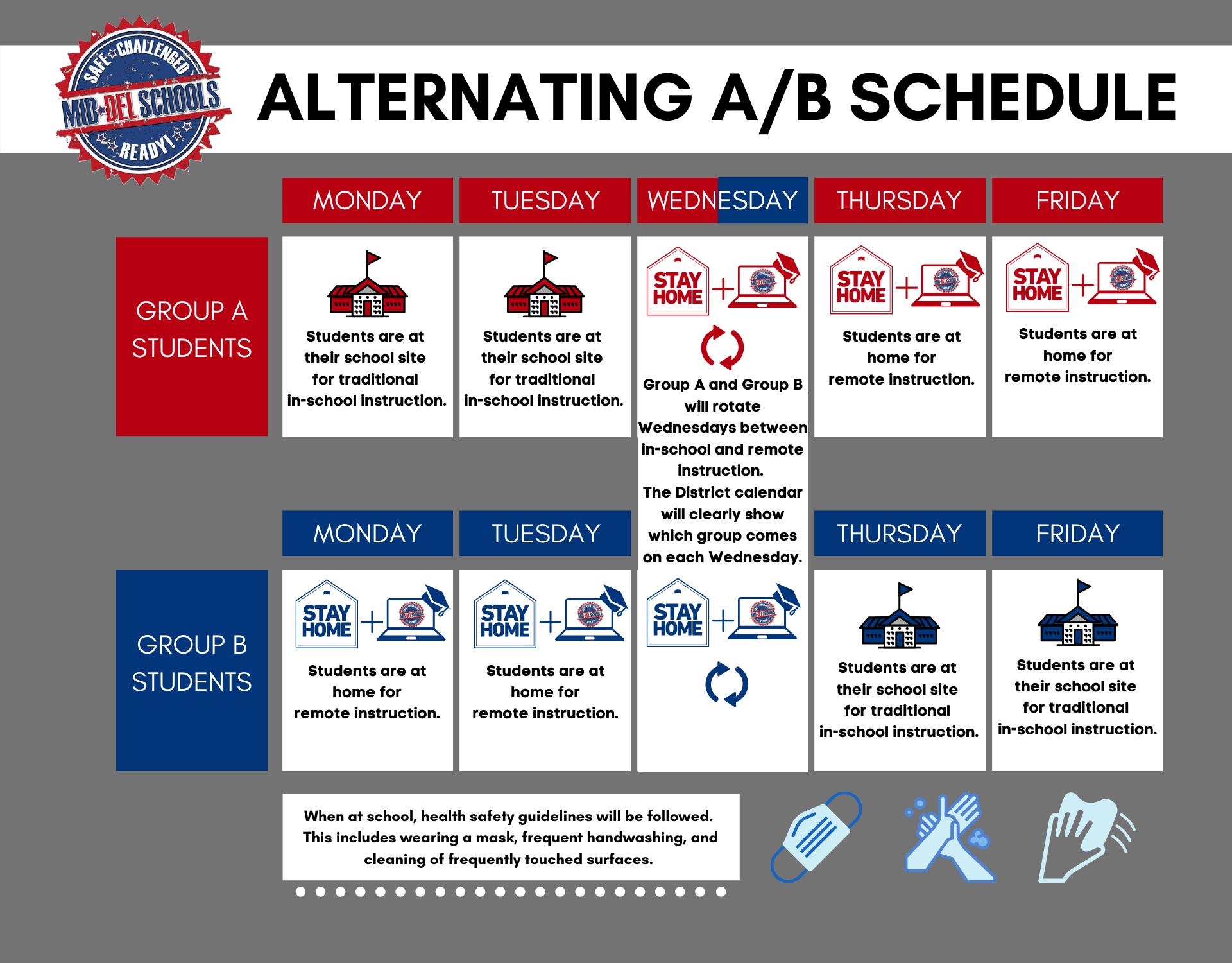 ALTERNATING A/B SCHEDULE