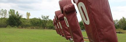 Football tackling dummies