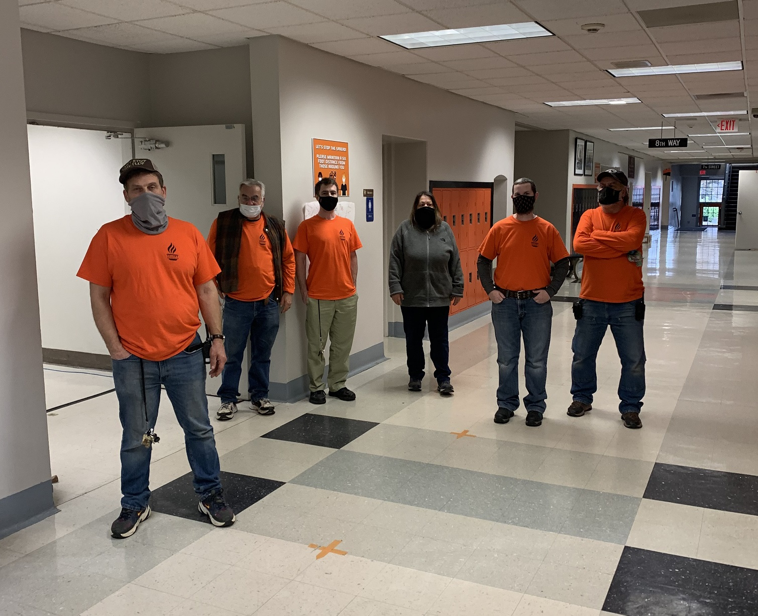 District Custodial Team