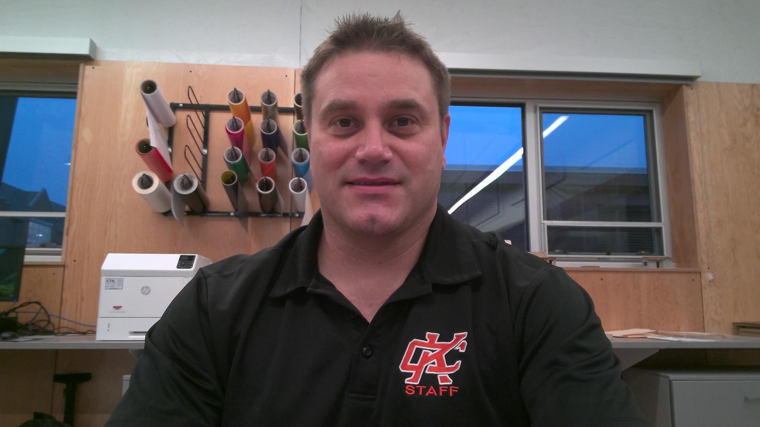 Cory Torpa, CTE Teacher/Director
