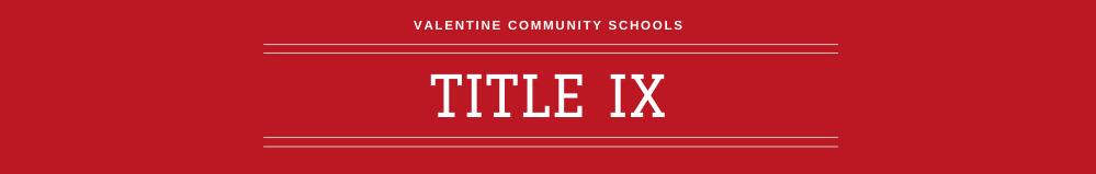 Title IX Banner
