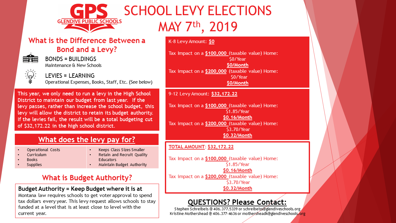 Levy Flyer 2019