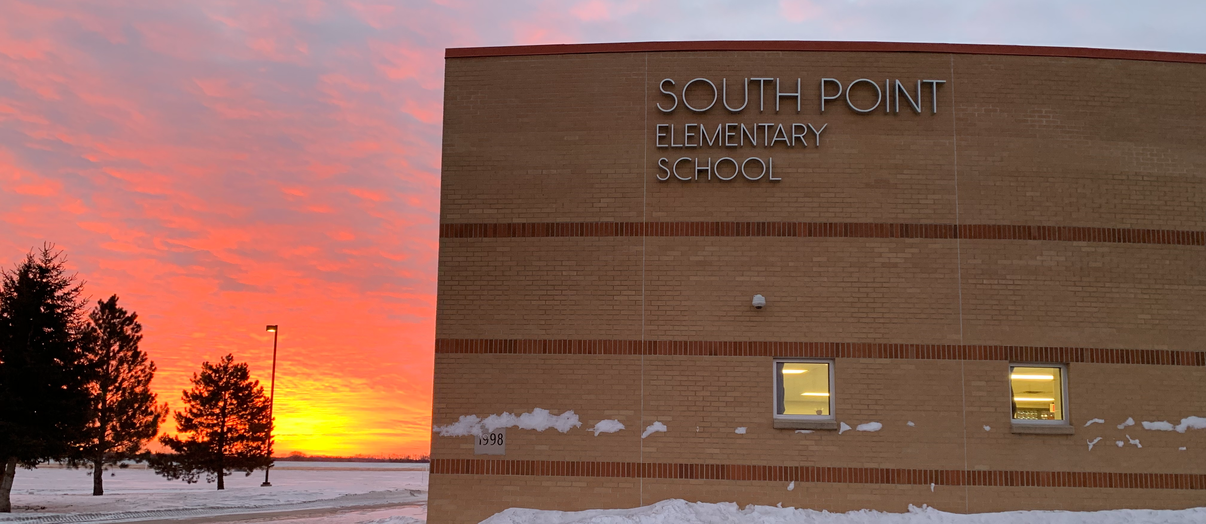 South Point Elementary School Sunset