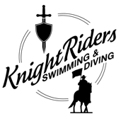 Knight Riders Swimming and Diving Logo