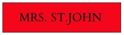 Mrs. St. John