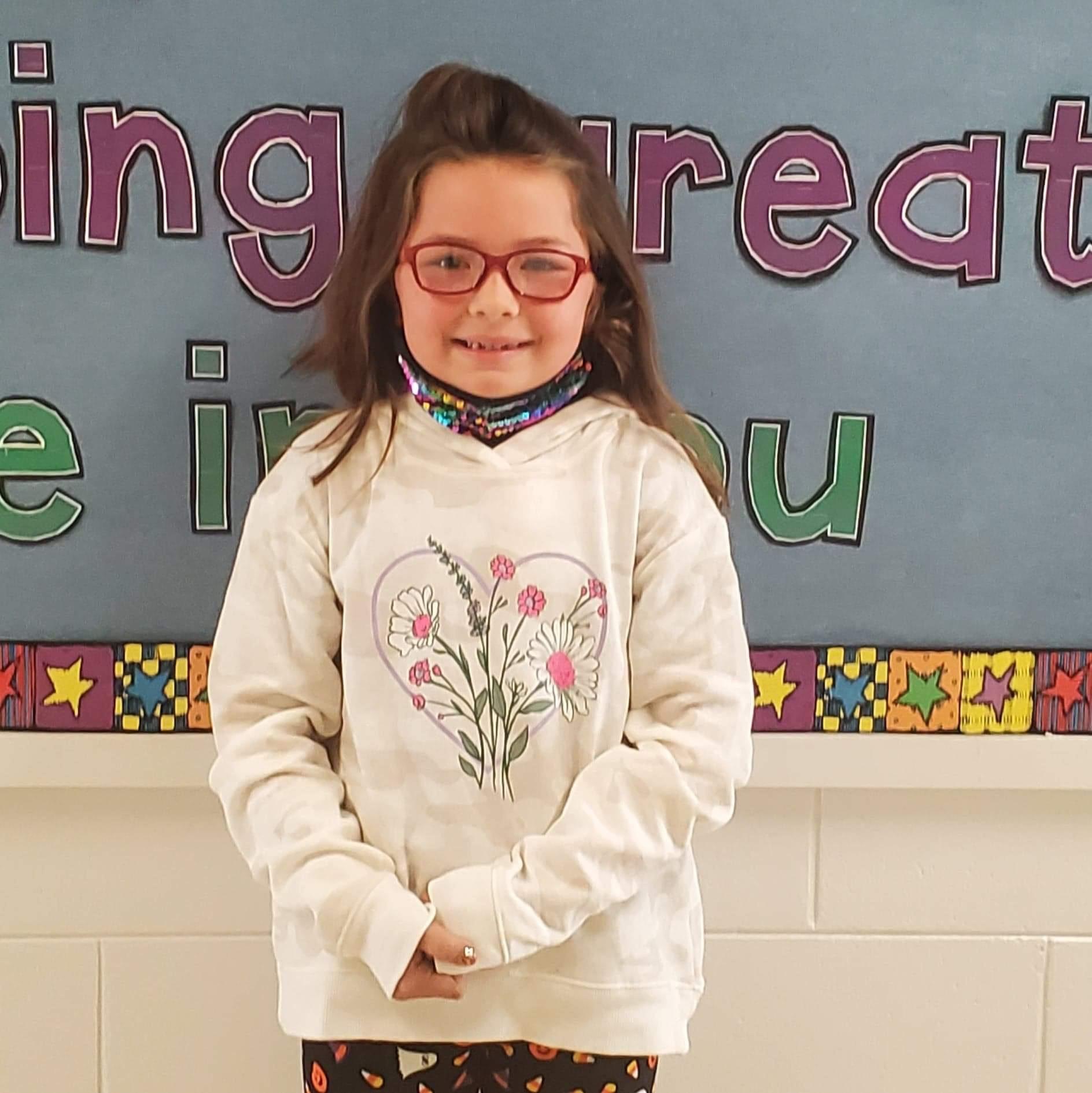 Isabel Biernat- September Student of the Month