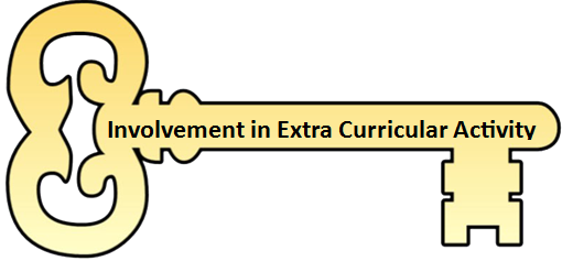 Involvement in Extra Curricular Activity