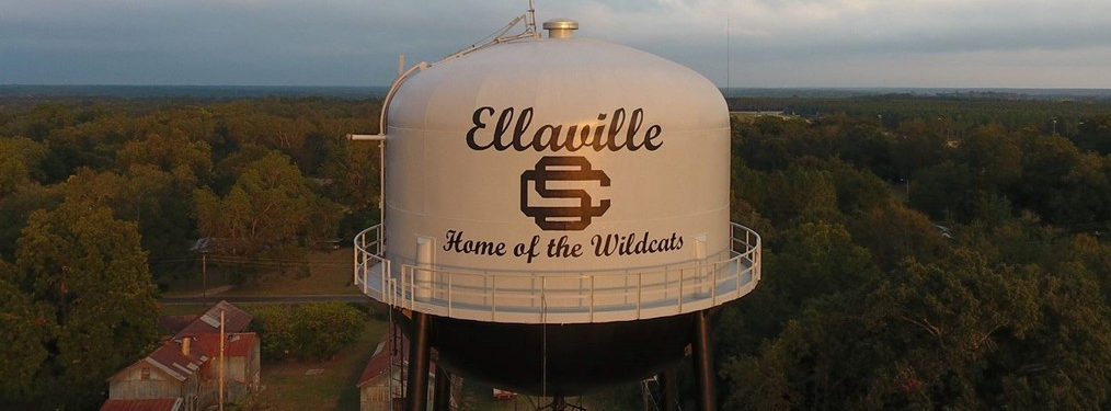 Ellaville Water Tower Photo