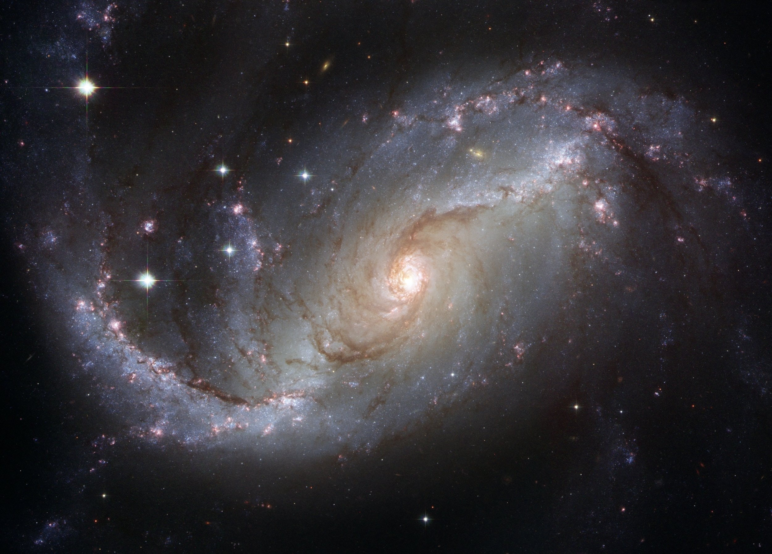 A photo of a galaxy.