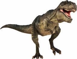 A photo of a dinosaur.
