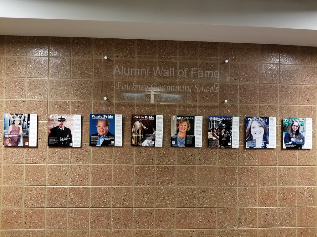 Photo of Alumni Wall of Fame