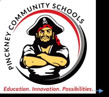 Pinckney Community Schools Logo Circle