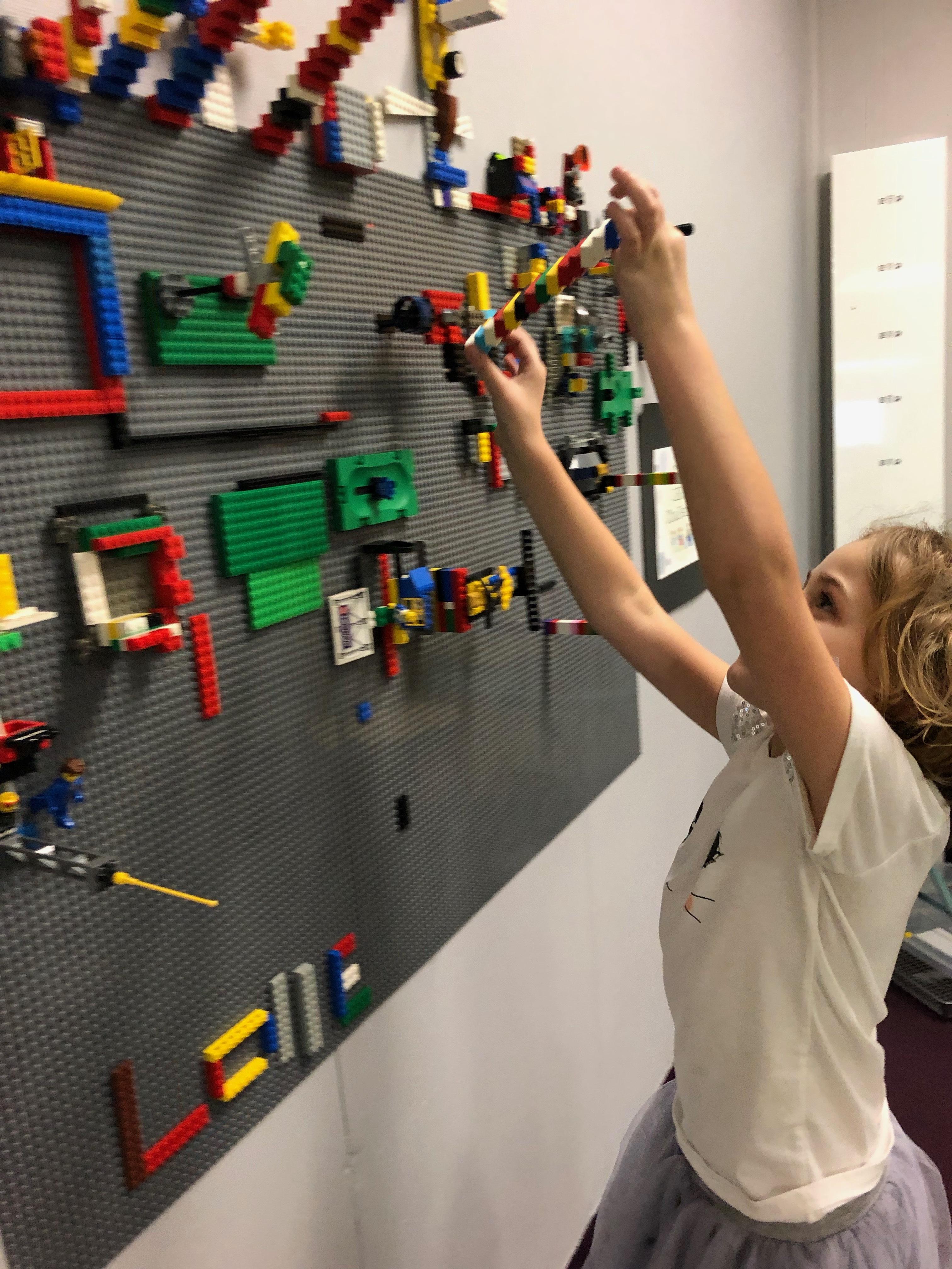 CE Lego Wall