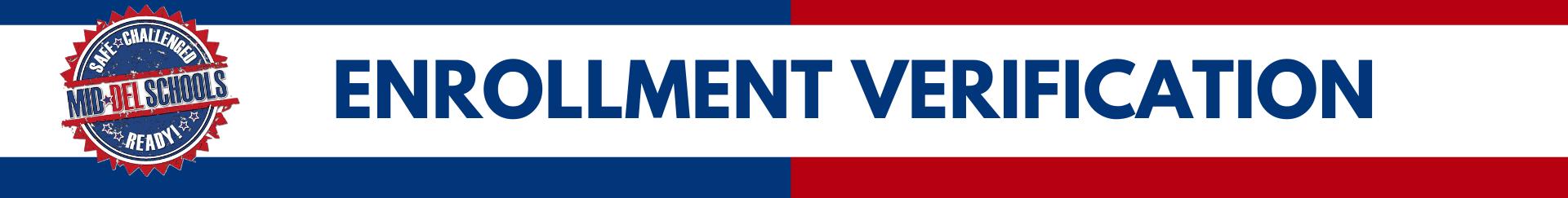 enrollment verificartion