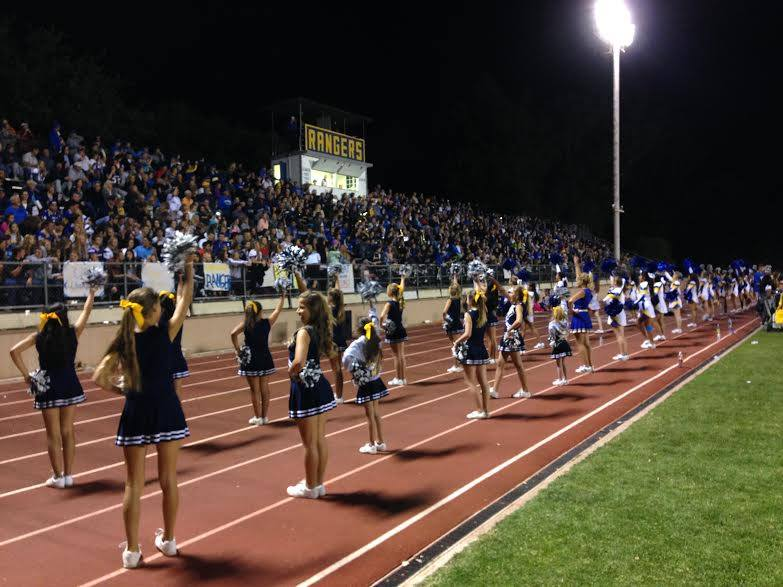 Cheer at stadium