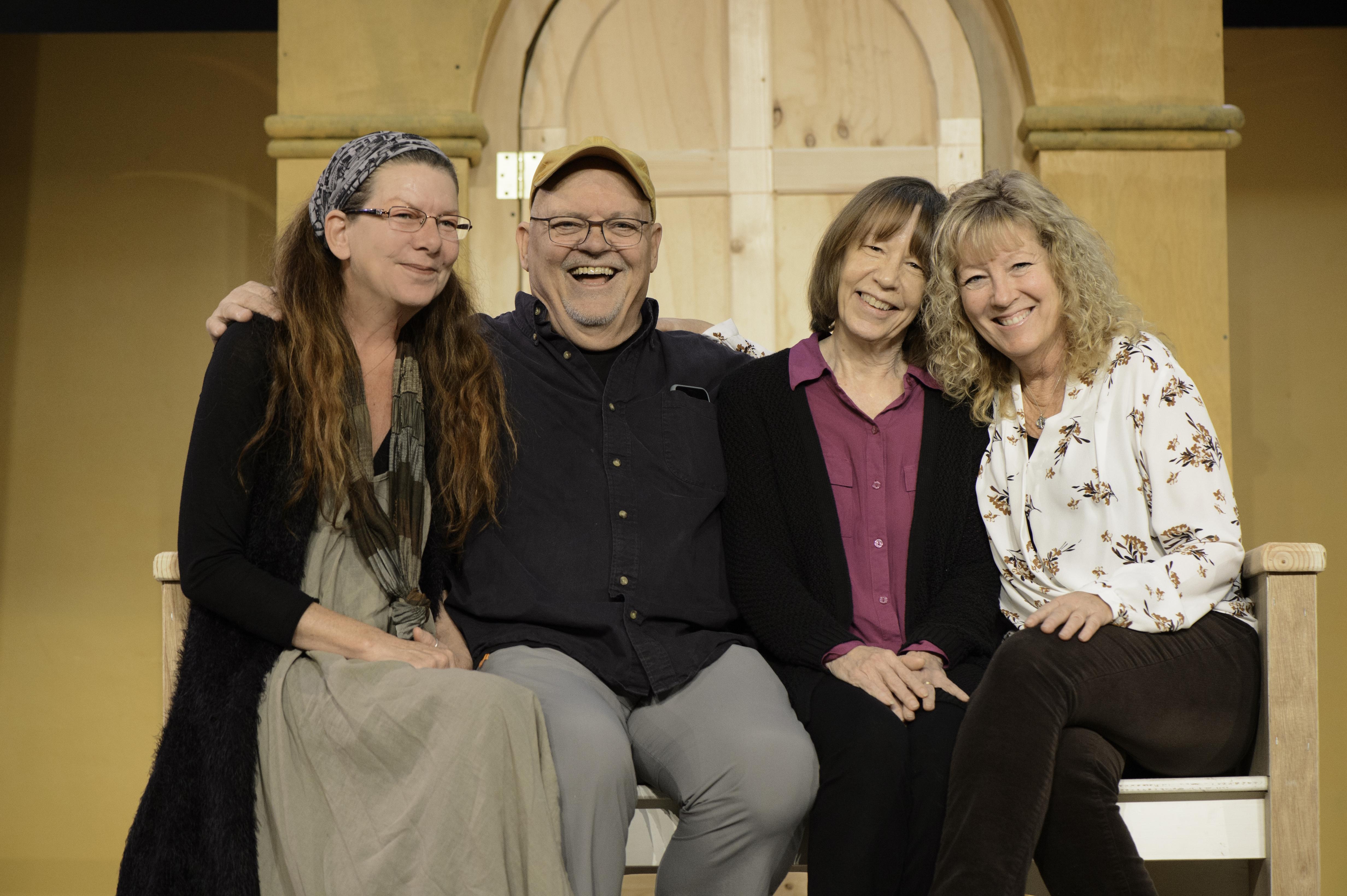 Jaye Hersh, Dr. Marty Babyco, Janet McNeil and Katherine White
