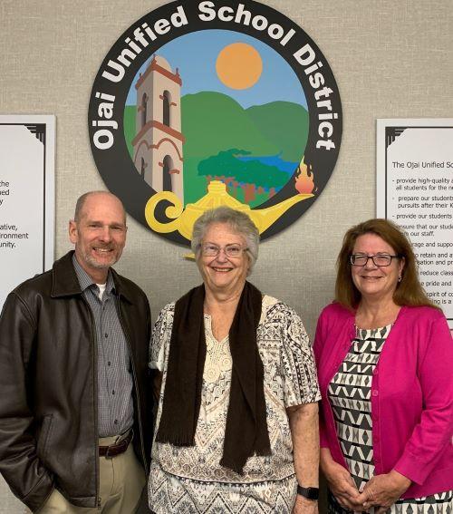 Left to Right: Mr. Steve Mason, Ms. Karen Phipps, and Ms. Jodi Heath