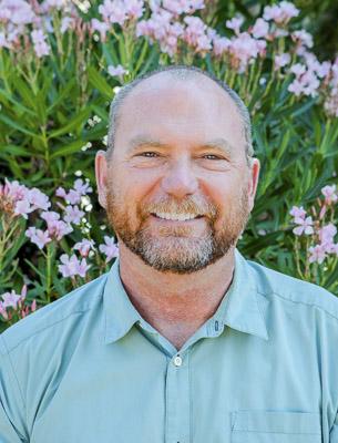 Photo of Russ Bennett, Coordinator of Maintenance
