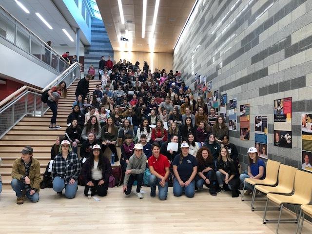 Sanford students visit SRTC