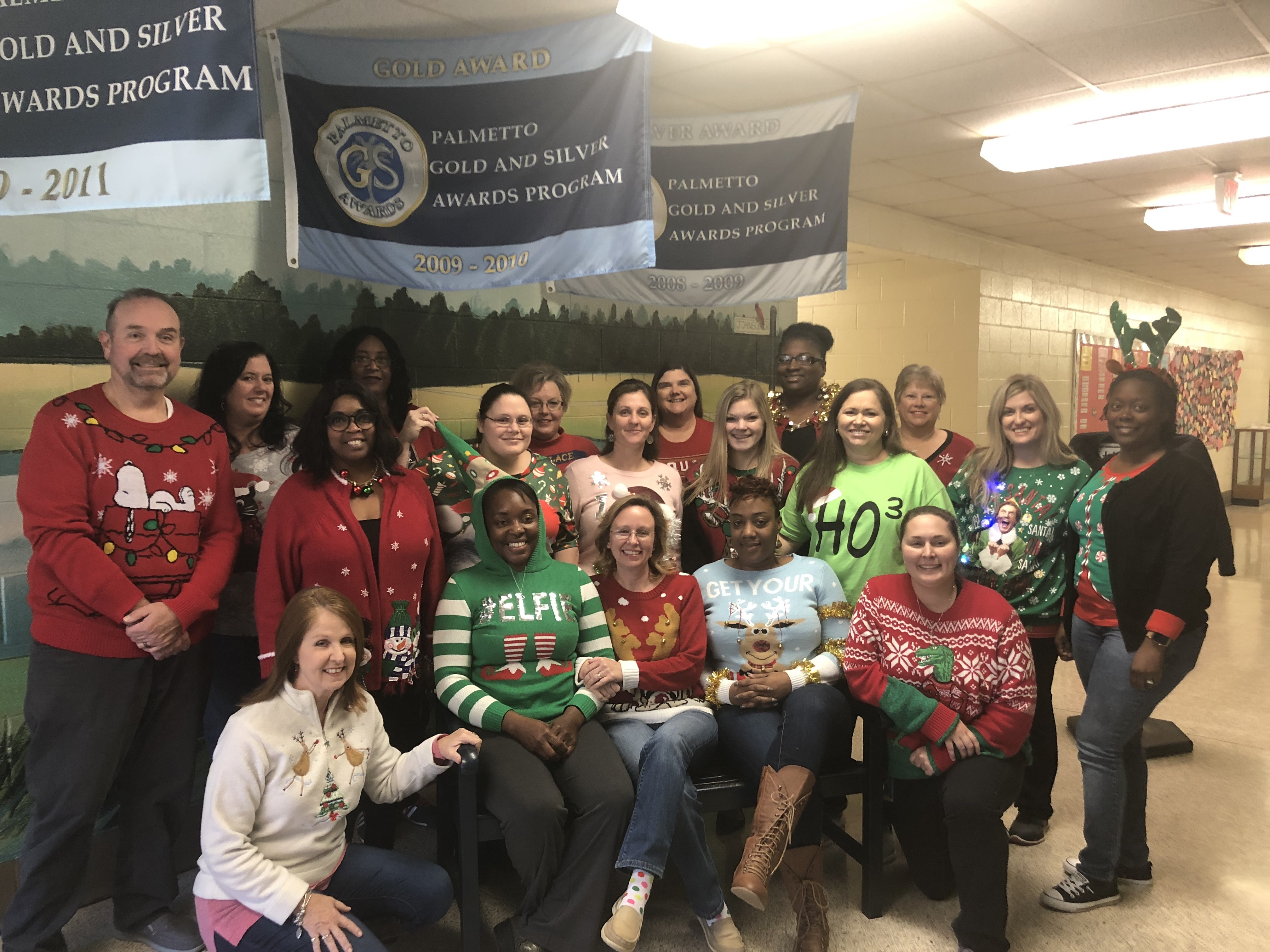 Faculty/Staff Ugly Christmas Sweaters