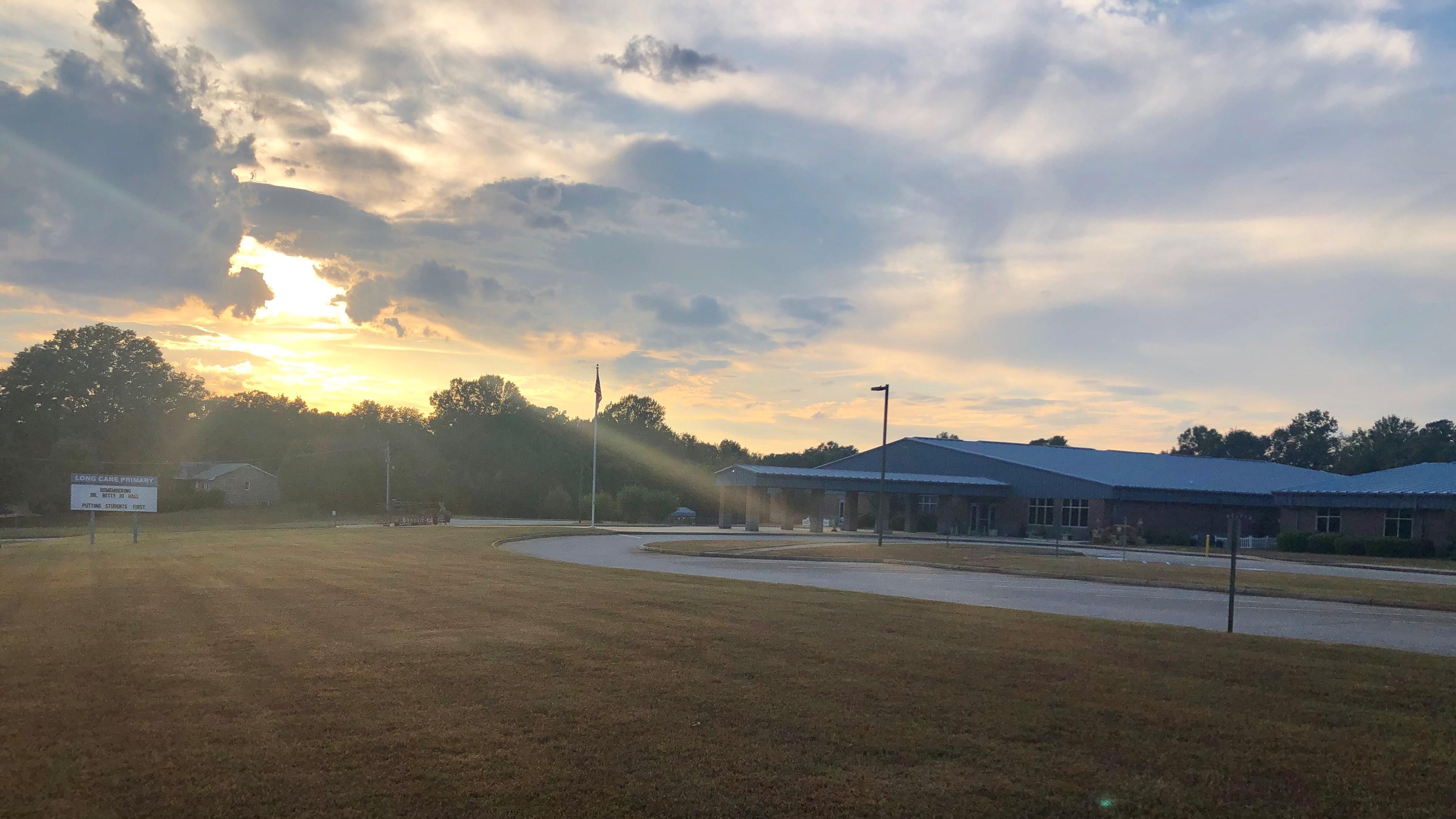 LCP at sunset