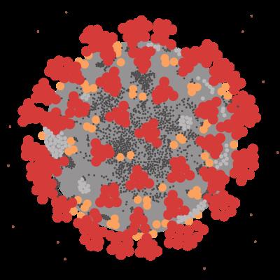 Image of virus.