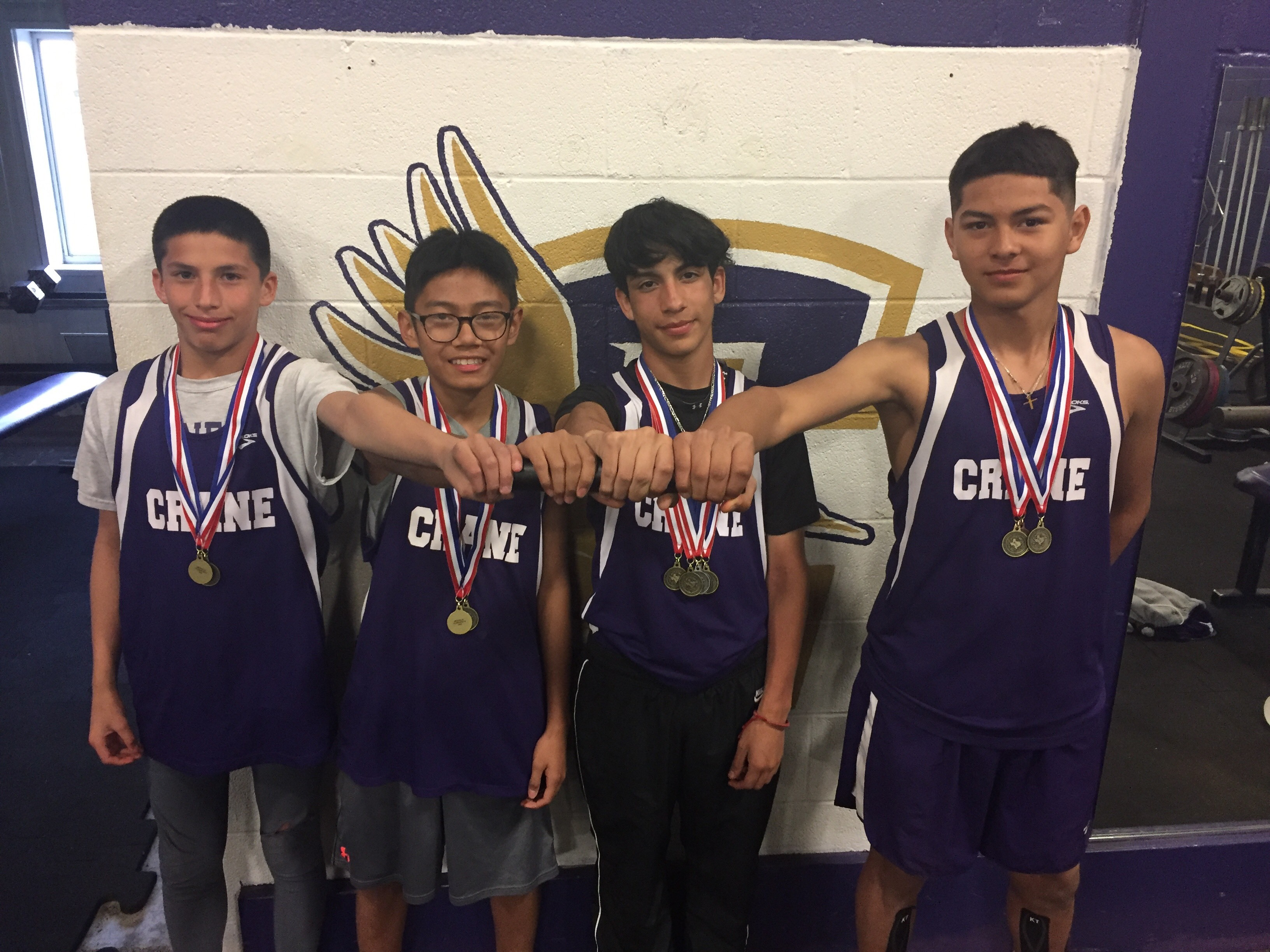 7th Grade Boys Relay Team