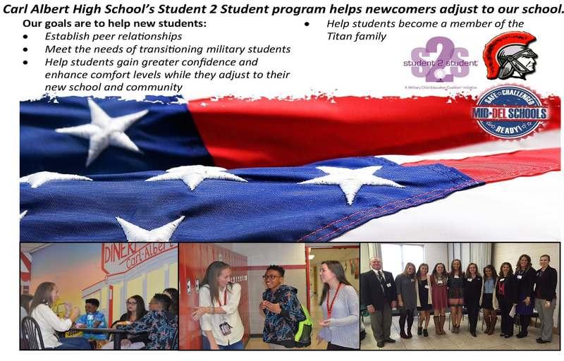 Carl Albert High School's Student 2 Student Program