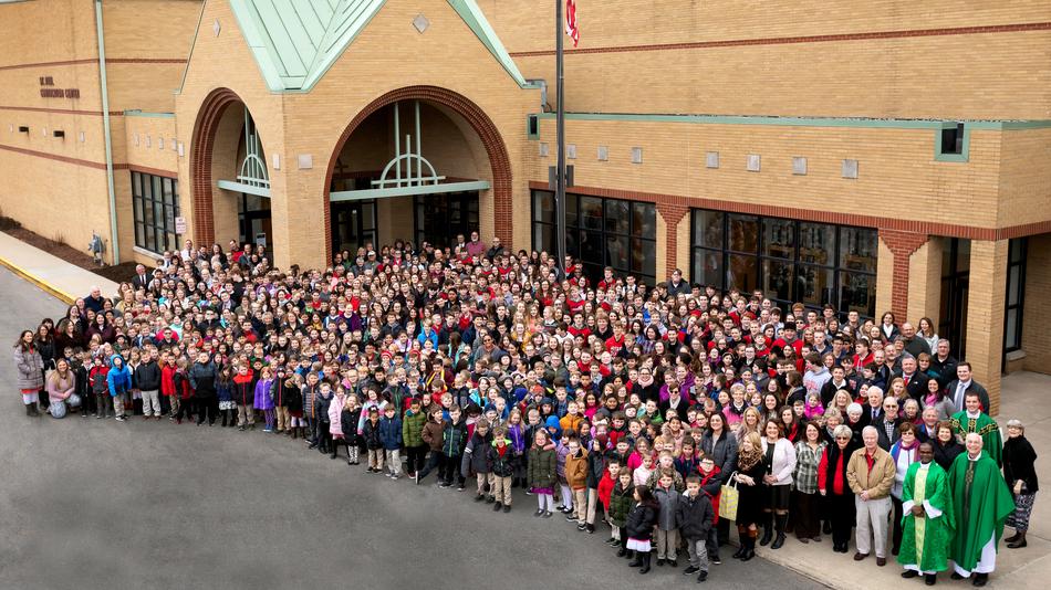 Norwalk Catholic Students and Staf