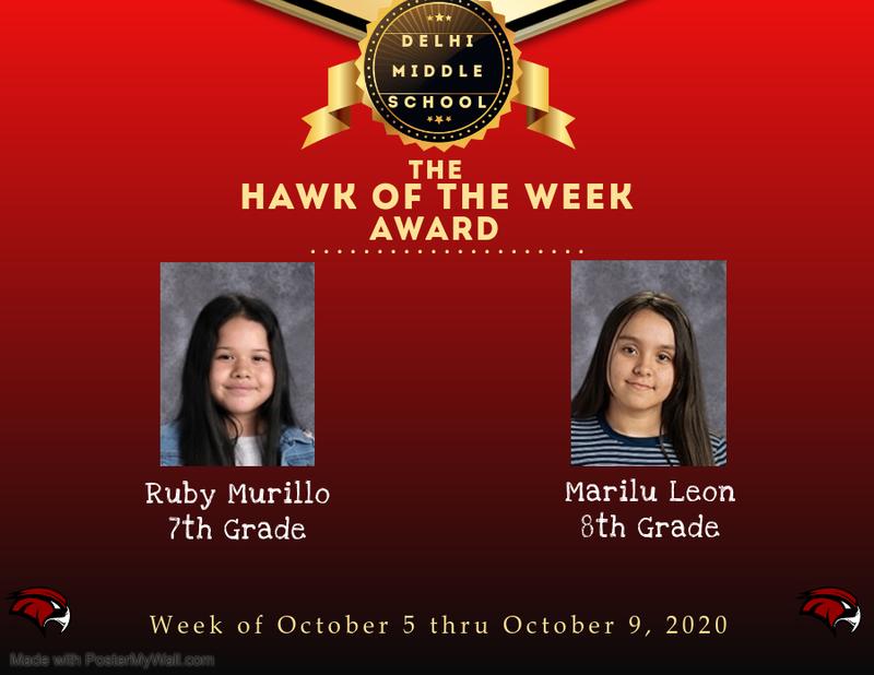 Week of October 5th thru October 9th, 2020