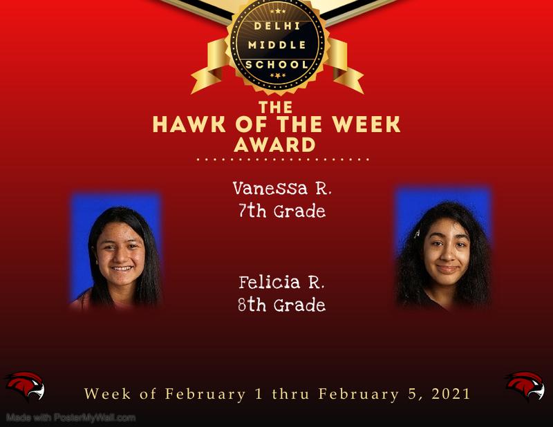 Week of February 1 thru February 5, 2021