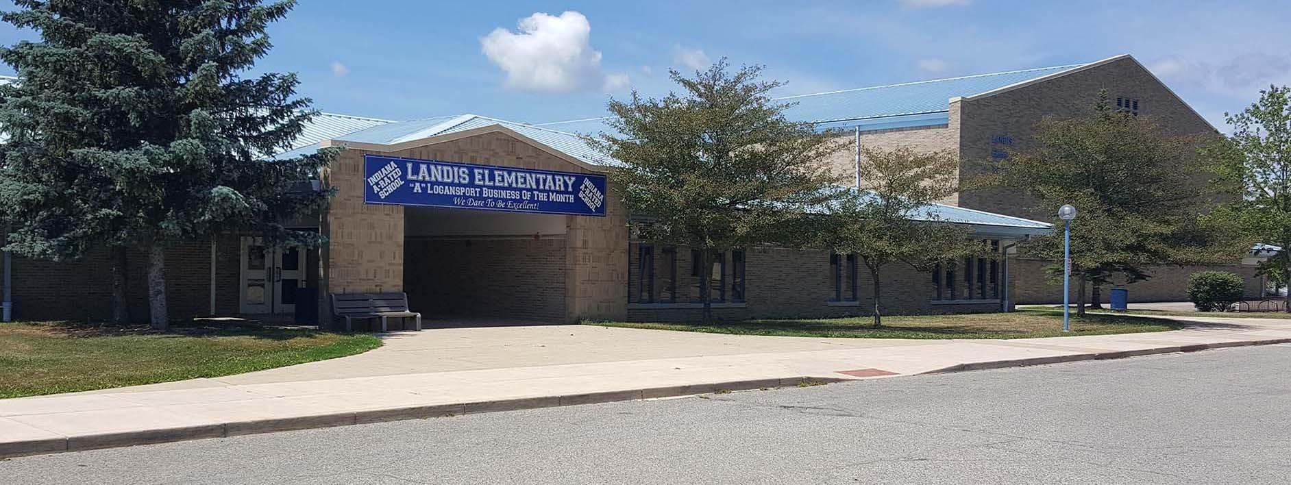 Exterior view of Landis Elementary