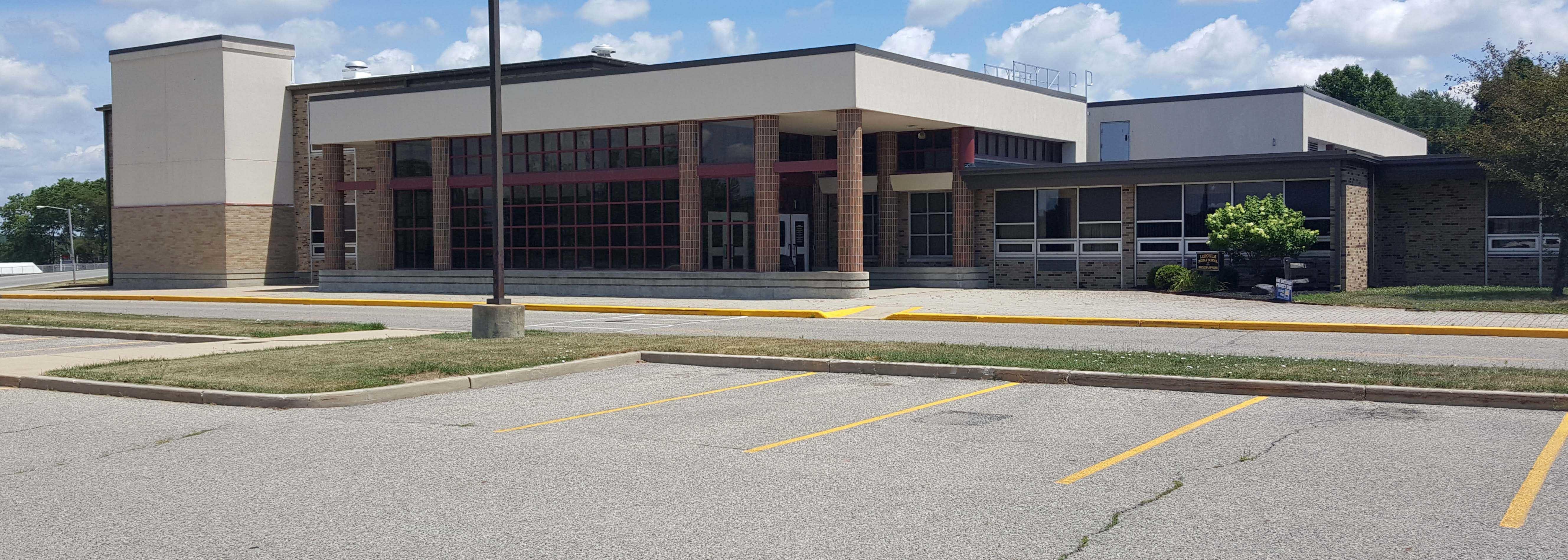 Exterior view of Logansport Junior High School