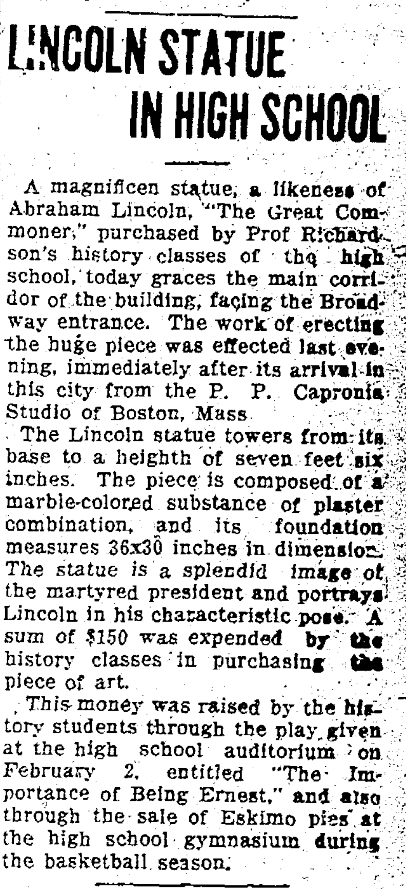 article Lincoln