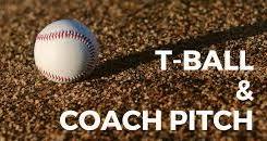 T-Ball & Coach Pitch