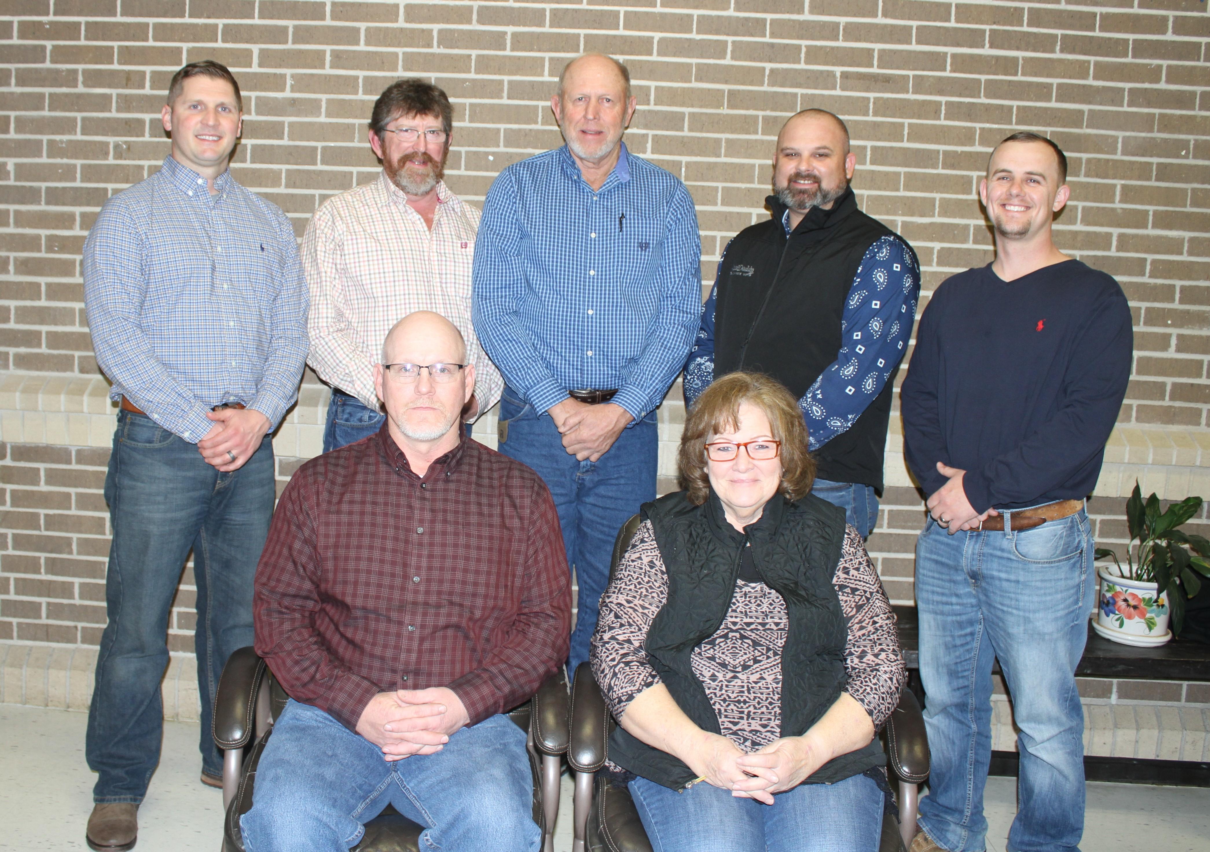 photo of Winona R-III board of education members
