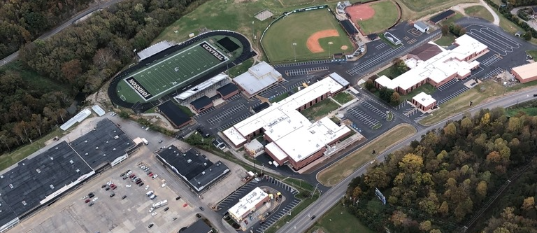 Aerial Shot of Johnson Central
