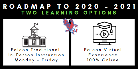 Roadmap to 2020-2021 Two Learning oPTIONS