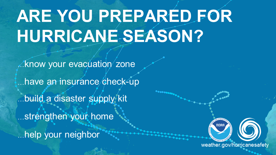 Hurricane Season Preventions