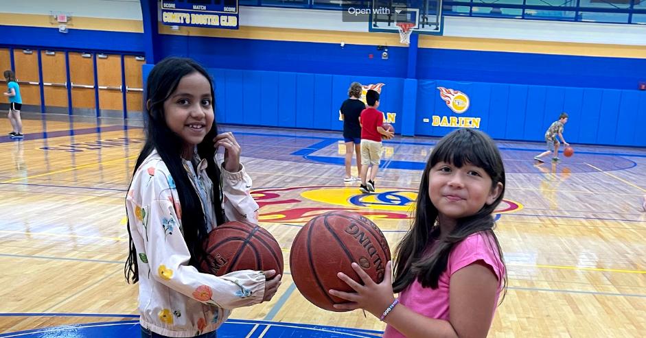 Students Playing Basketball at ddschools