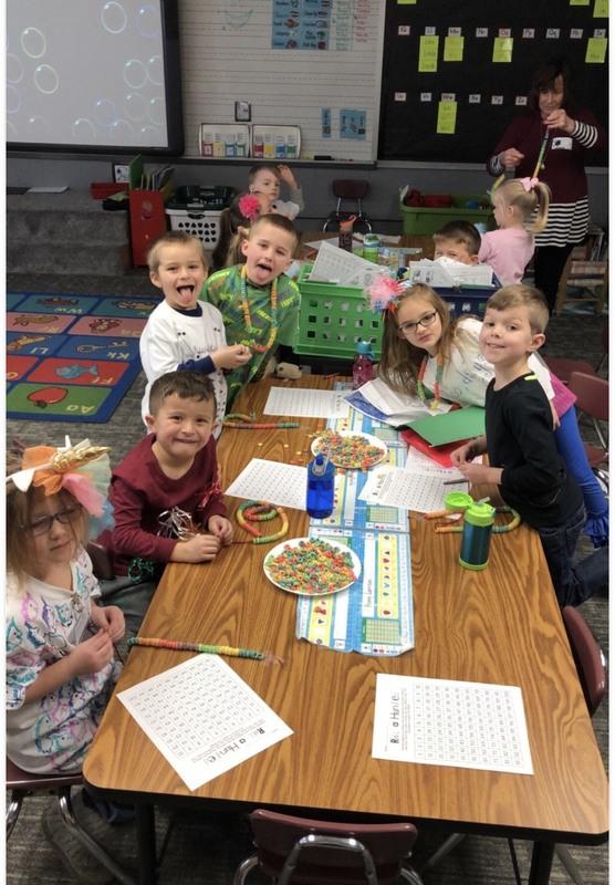 photo of Kindergarten's 100th Day