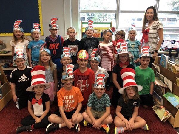 photo of 1st Grade Cat in the Hat Day