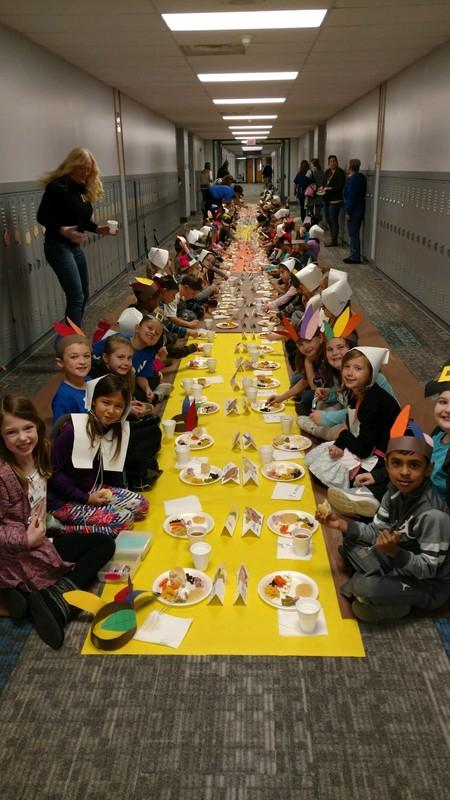 photo of 2nd Grade Feast