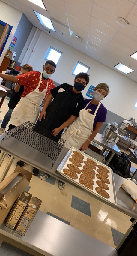 Culinary Students are in the Kitchen