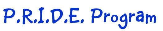 PRIDE program header